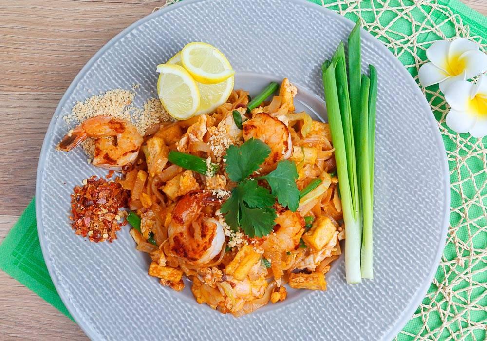 Pad thai z krewetkami i tofu House of Asia
