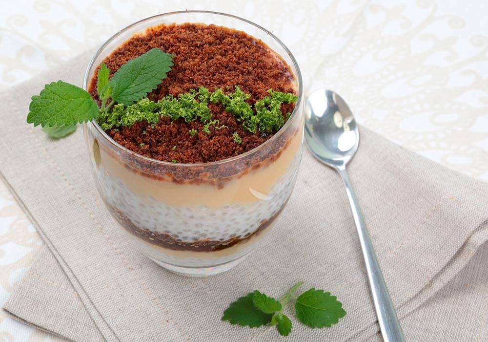 Kokosowy pudding z tapioką i pulpą z guawy House of Asia