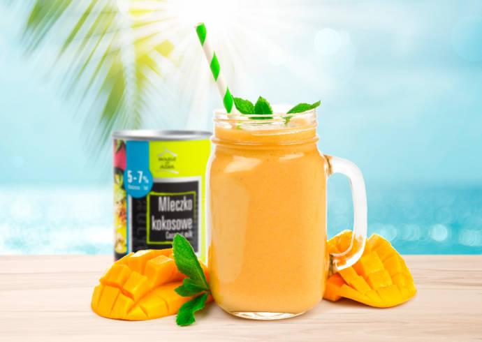 Koktajl z mleczkiem kokosowym i mango House of Asia