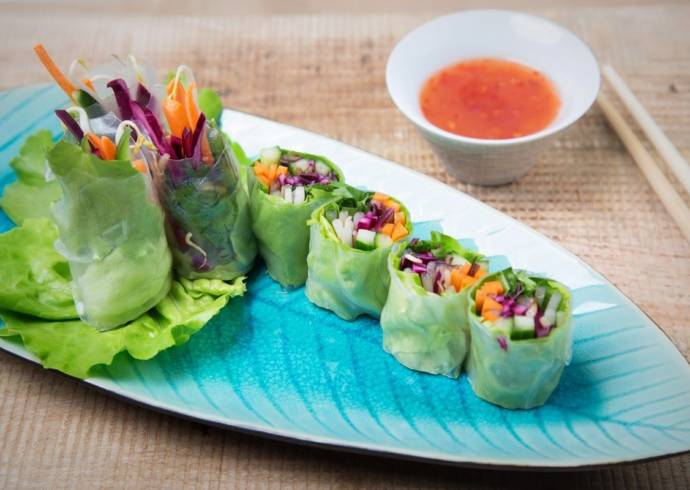 Spring rolls warzywne House of Asia