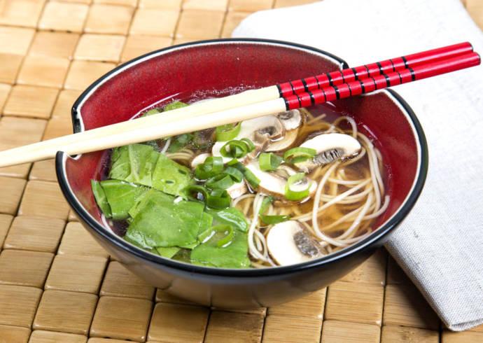 Zupa miso ramen z kurczakiem House of Asia