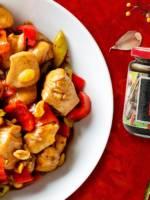 Kurczak Kung Pao z sosem hoisin House of Asia