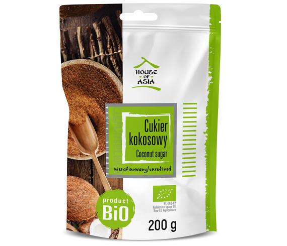 Cukier kokosowy 200g House of Asia