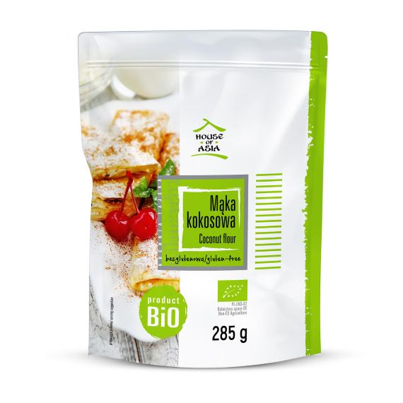 Mąka kokosowa BIO 285 g House of Asia