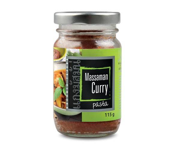 Pasta massaman curry 115 g house of asia