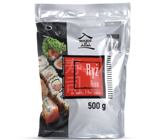 Ryż do sushi Premium 500 g house of asia