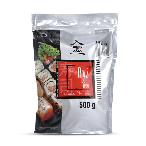 Ryż do sushi Premium 500 g house of asia