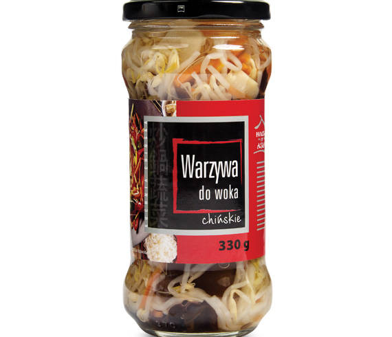 Warzywa do woka 330 g house of asia