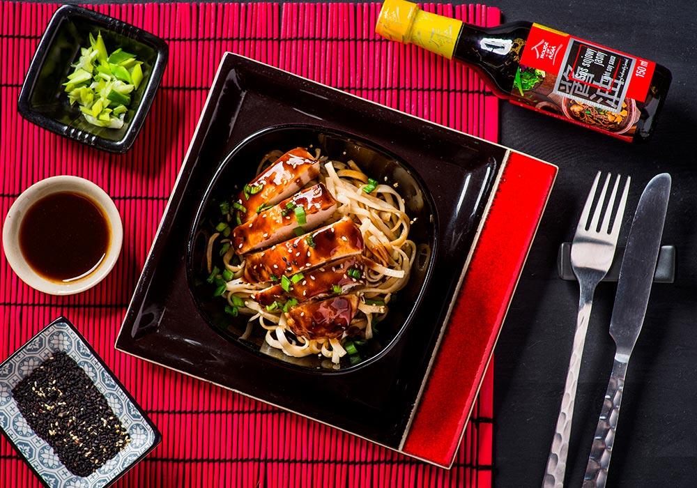 Kurczak w sosie teriyaki House of Asia