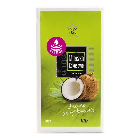 Mleczko kokosowe UHT 17-18% 1litr House of asia