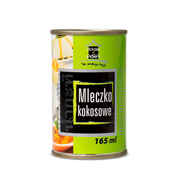 Mleczko kokosowe 5-7% 165 ml House of Asia