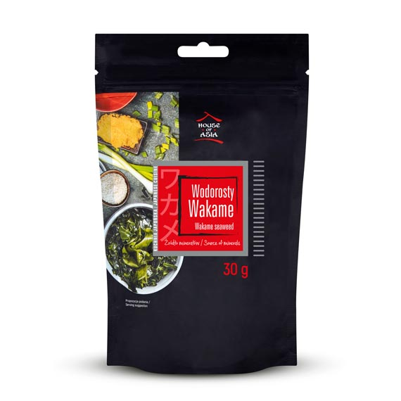 Wodorosty wakame 30 g House of Asia