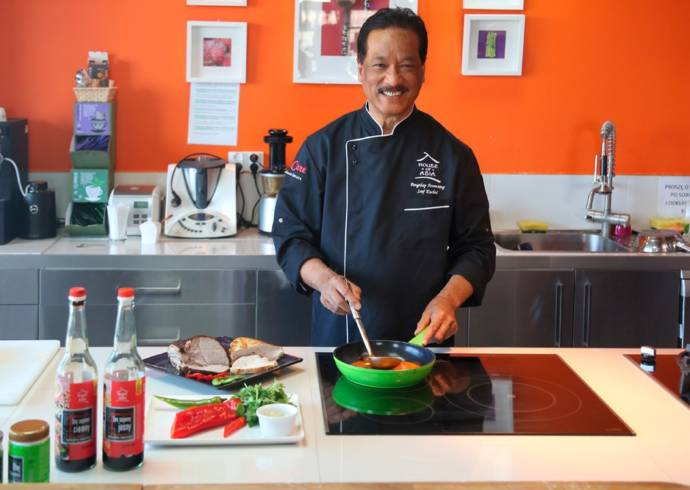 Pongthep Aroonsang szef kuchni House of Asia