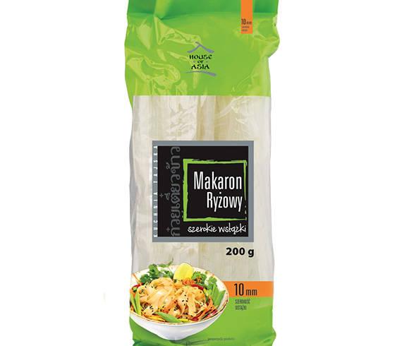 Bezglutenowy makaron ryżowy 10 mm 200g house of asia