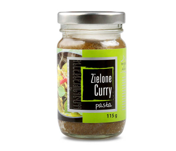 Pasta curry zielona 115 g house of asia
