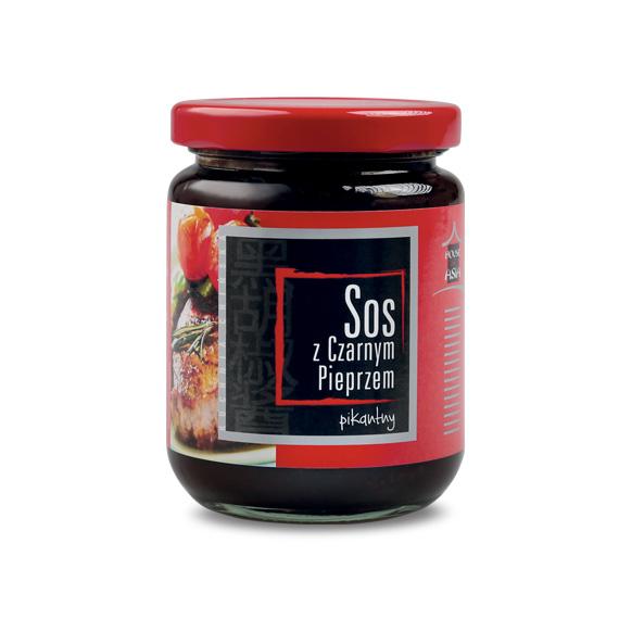 Sos z czarnym pieprzem pikantny 240 g house of asia