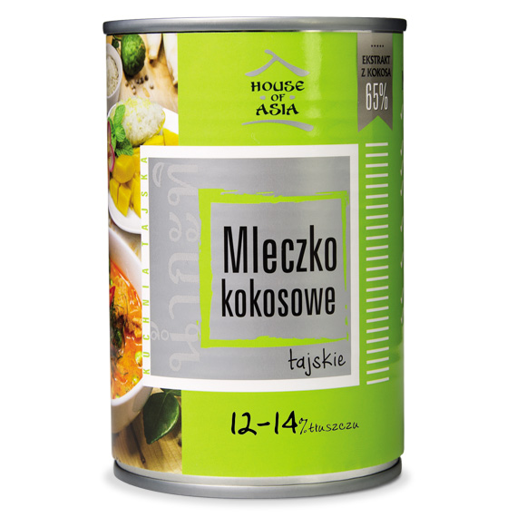 Mleczko kokosowe 12-14% 400 ml house of asia