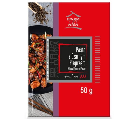 Pasta z czarnym pieprzem 50 g House of Asia