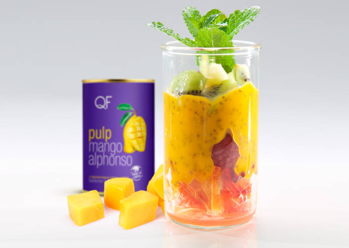Pudding chia z mango i sokiem z limonki House of Asia