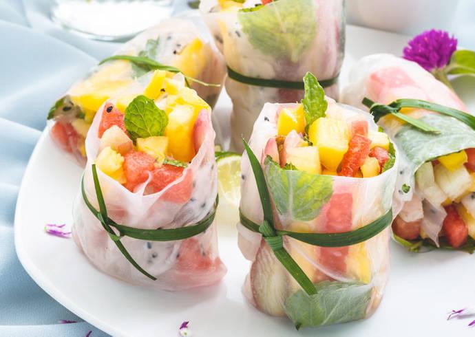 Spring Rolls z mango i arbuzem house of asia