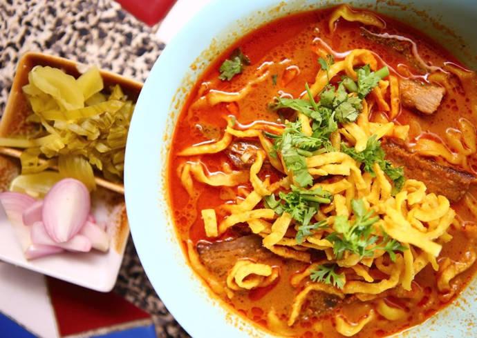 Zupa tajska Khao Soi house of asia