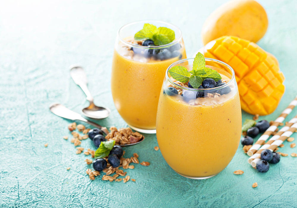 Mango lassi z mleczkiem kokosowym house of asia