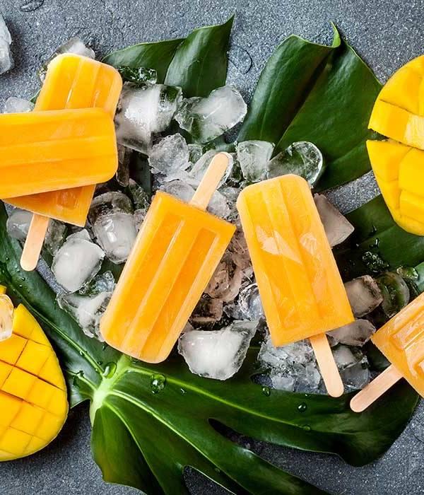 Sorbet z mango i mleczkiem kokosowym house of asia