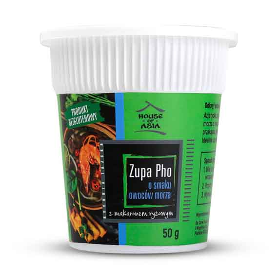 Zupa Pho o smaku owoców morza 50 g House of Asia