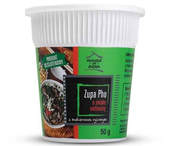 Zupa Pho o smaku wołowiny 50 g House of Asia