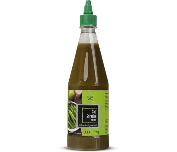 Sos Sriracha zielone chili 815 g House of Asia