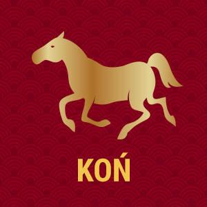 Horoskop chiński znak zodiaku koń