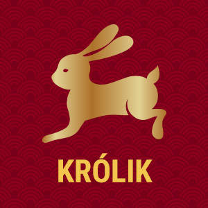 Horoskop chiński znak zodiaku królik