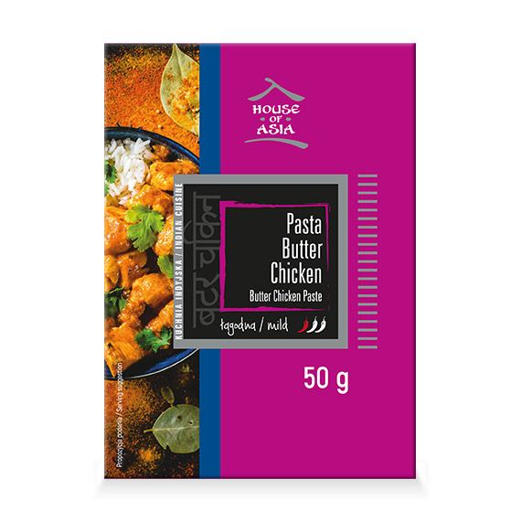 Pasta Butter Chicken 50 g House of Asia