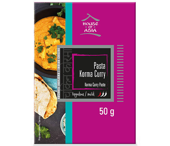 Pasta Korma Curry 50 g House of Asia