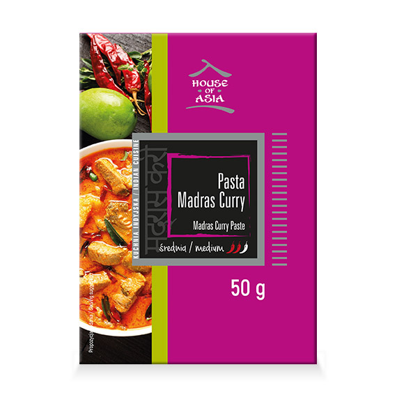 Pasta Madras Curry 50 g House of Asia