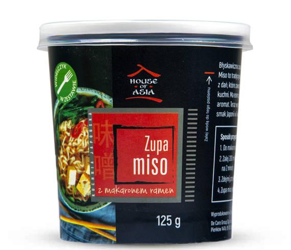 Zupa Miso z makaronem Ramen 125 g House of Asia