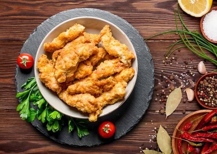 Przepis Kurczak w cieście kokosowym z sosem chili House of Asia