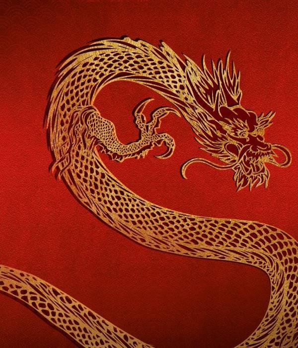 Chińskie Symbole Szczęścia Smok House of Asia