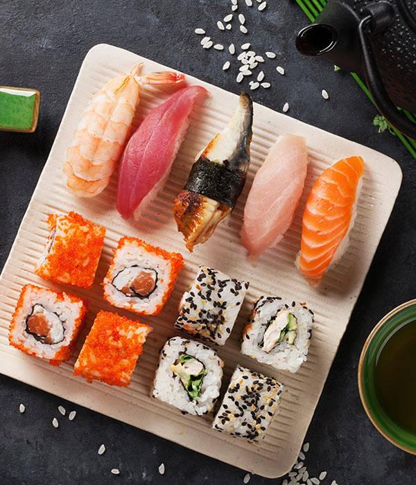 Jakie są rodzaje sushi? House of Asia