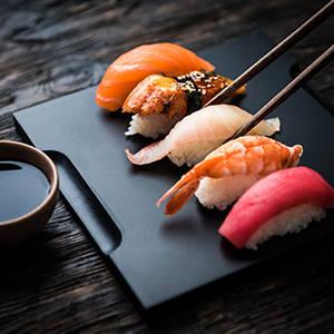 Nigiri sushi House of Asia