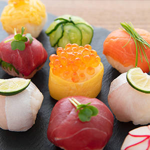 Temari sushi House of Asia