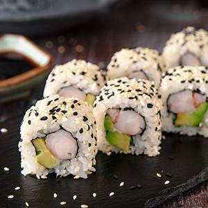 Uramaki sushi House of Asia