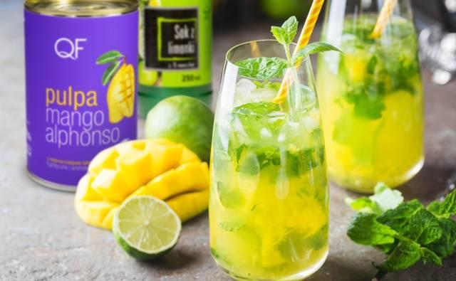 Mango Mojito z sokiem z limonki House of Asia