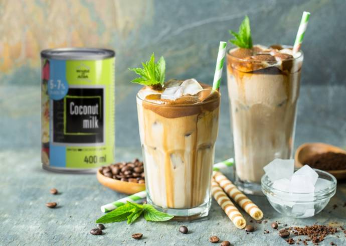 Koktajl kokosowo-kawowy