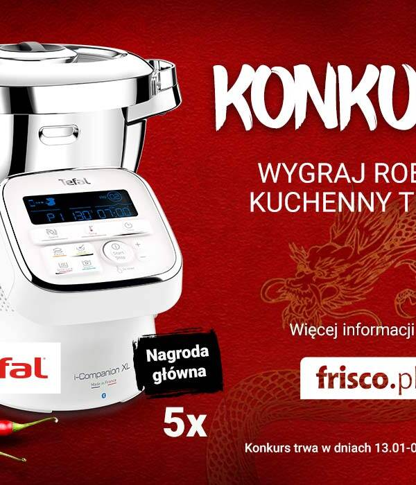 Konkurs wygraj robot kuchenny i-Companion XL Tefal House of Asia